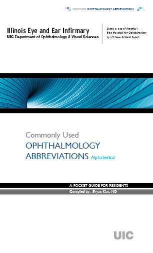 Ophthalmic Terms (Pocket Dictionary)