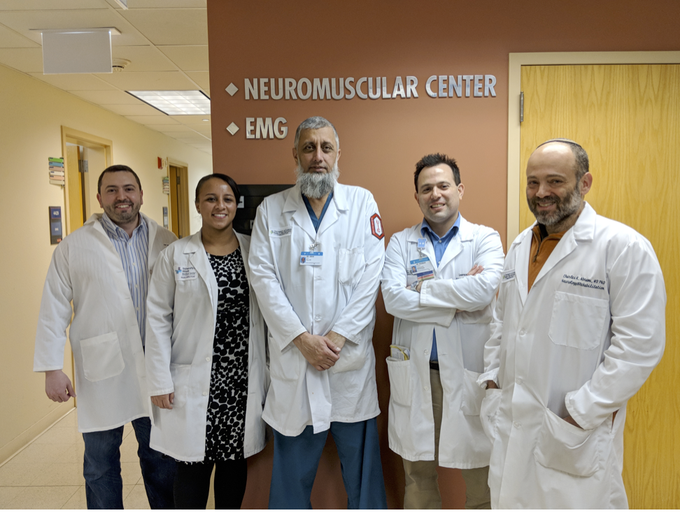 Welcome Dr. Abrams as Section Chief & Director of the Neuromuscular Center